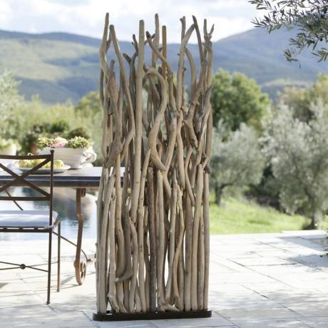 Paravent Woody #Terrasse #Garten #loberon #Treibholz | Seaside ...