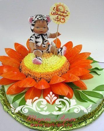 торты на заказ на день рождения фото