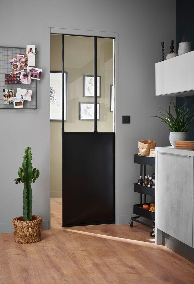 porte galandage des portes coulissantes belles et pratiques lapeyre caisson et acier. Black Bedroom Furniture Sets. Home Design Ideas