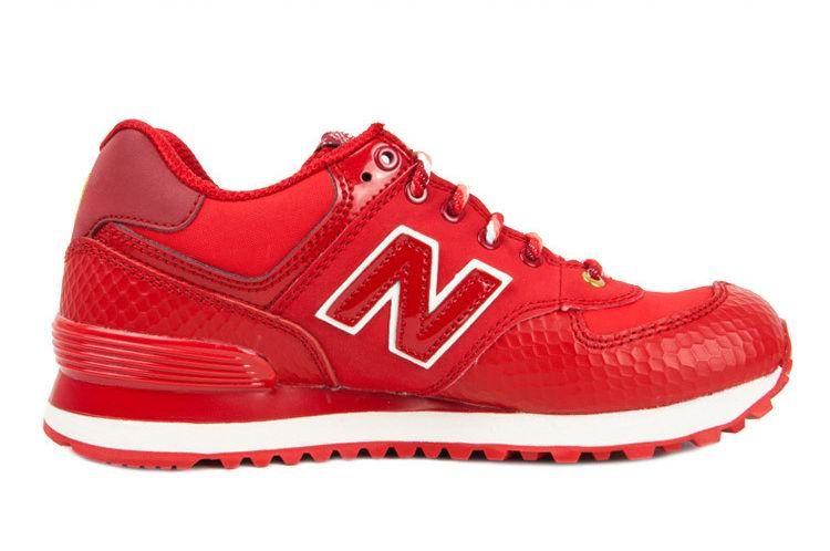 New Balance NB ML574 Year of Snake 2013 Fire Red Golden For Men