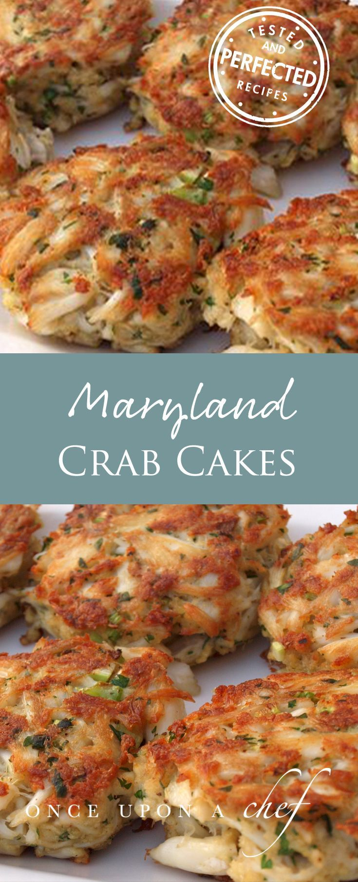 Photo of Maryland Crab Cakes with Quick Tartar Sauce – Once Upon a Chef