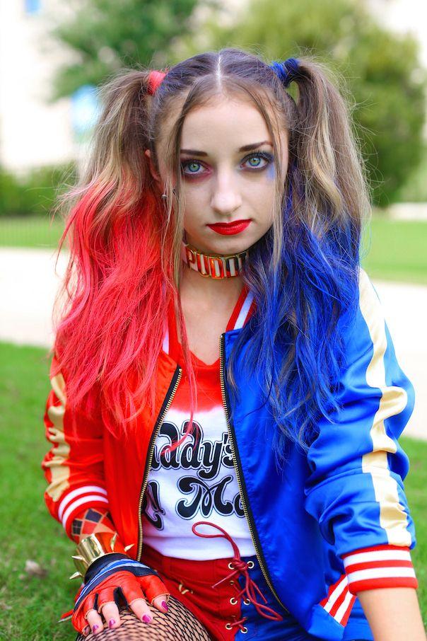 Harley Quinn Pigtails  Cute Girls Hairstyles  Cute Girls