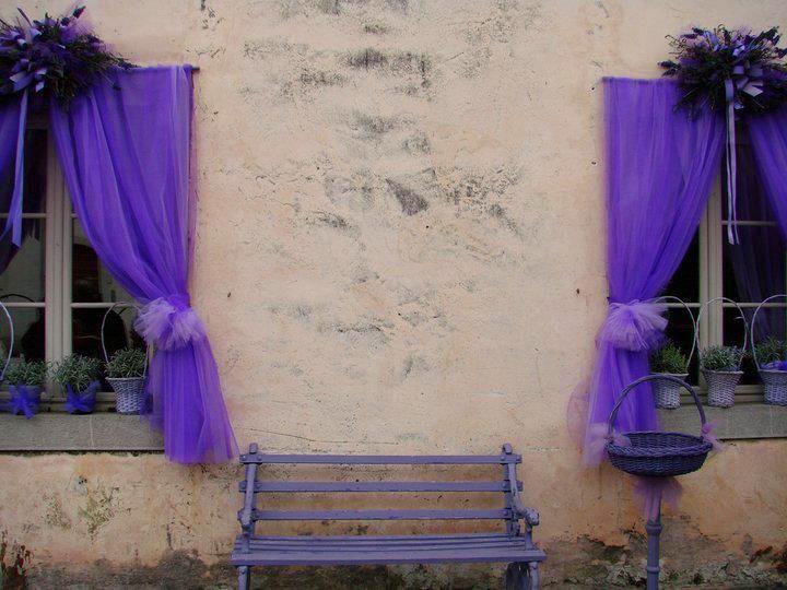 flower windows lavander