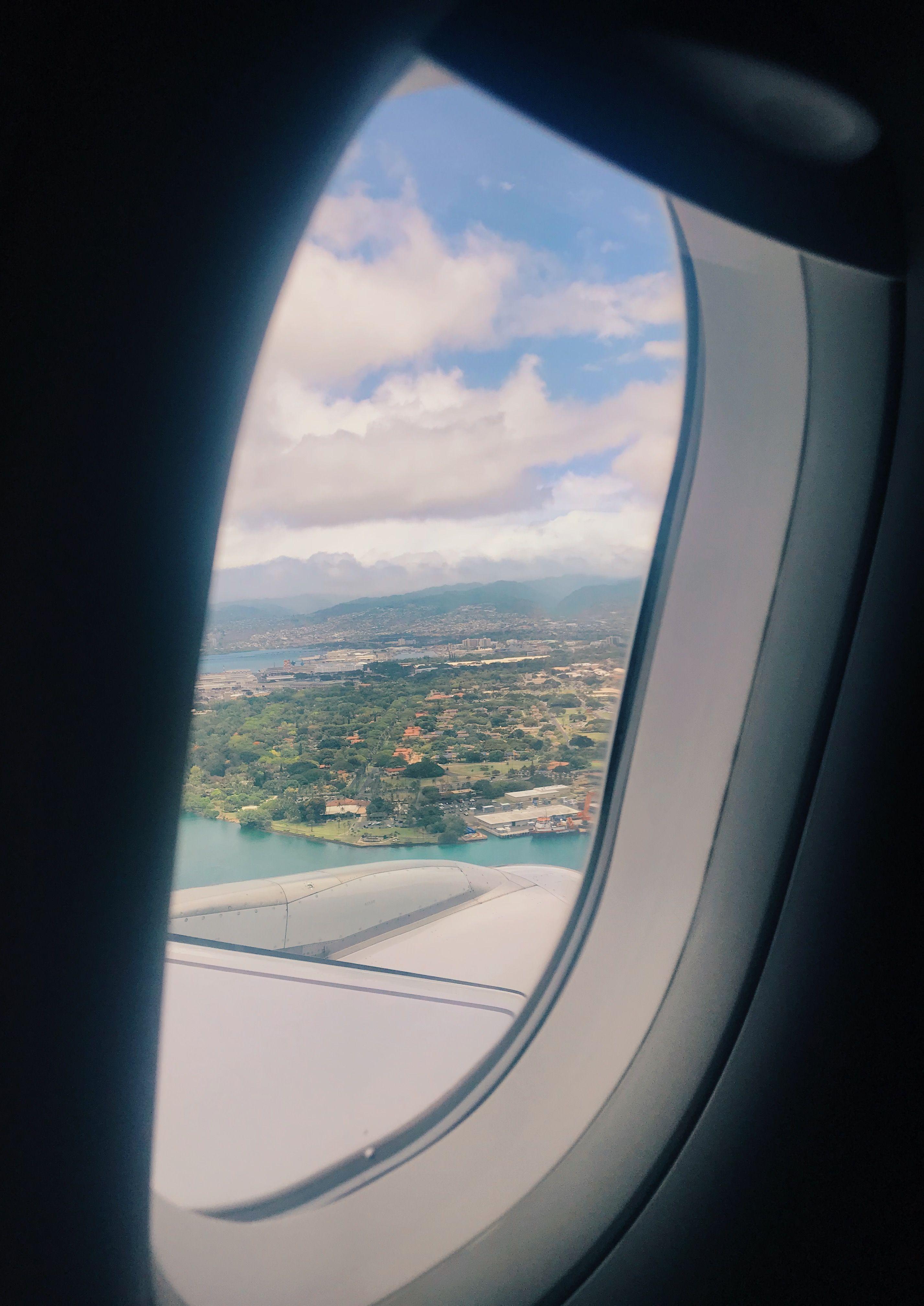 Airport Window Travel Hawaii Travel Aesthetic Hawaii
