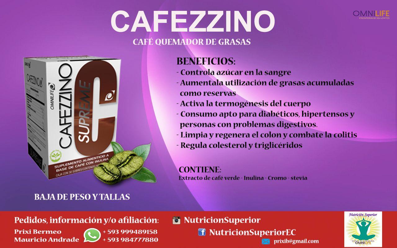 Cafezzino Supreme Café Para Bajar De Peso Omnilife Omnilife Te Para Bajar De Peso Quemador De Grasas