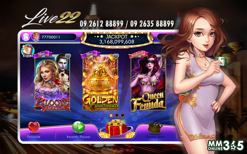 Live22 Myanmar - Live Casino, Slots Games, Fish Hunting Games