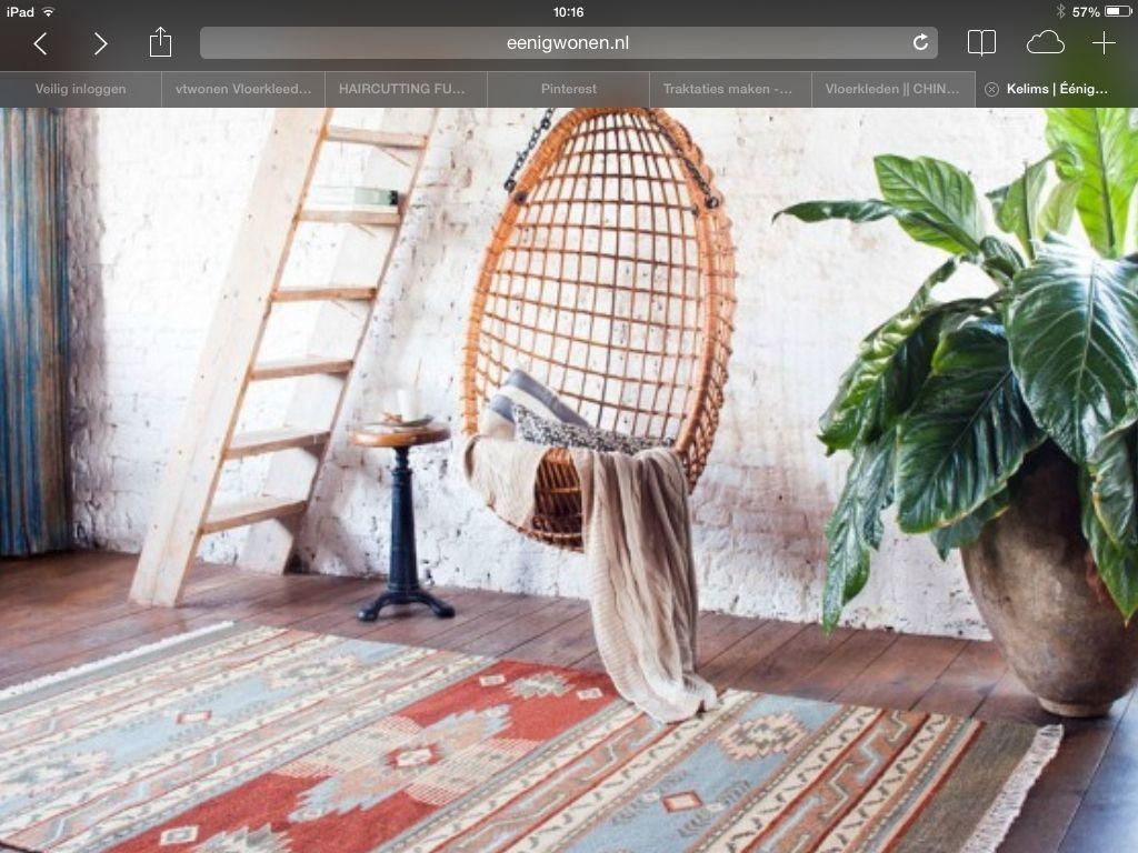 Interior, Kelim Vloerkleed, Mooiste Voorbeelden
