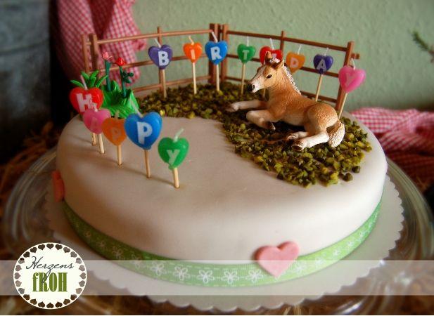 Herzensfroh Kindergeburtstag Kuchen Kindergeburtstag Pferd Geburtstagstorte Kinder Kindergeburtstag Pferde