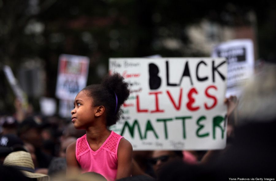 How A Massive March For Justice In Staten Island Was Not Anti Police Black Lives Matter Poster Black Lives Matter Black Lives