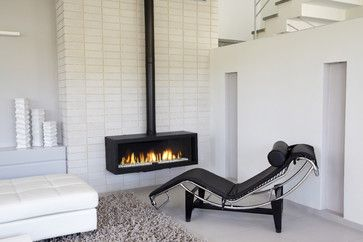 Contemporary Stand Alone Gas Fireplaces   All Products / Living Products /  Fireplace Products / Fireplaces