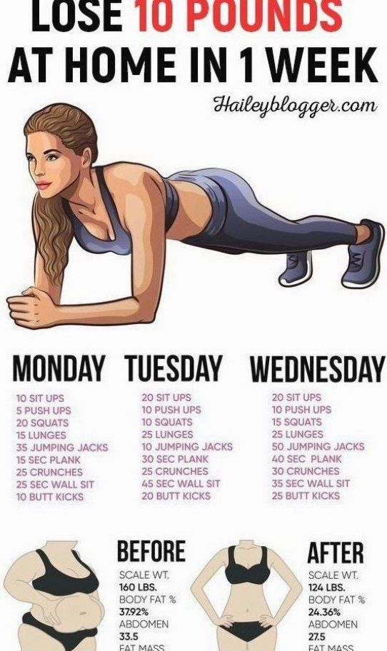 This weight loss workout exercise plan will help you lose weight by giving you…