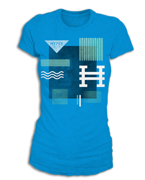 Hyper Girls Textured Pattern - Martial Arts girls have style. They have amazing skills and are passionate, flexible, fierce, fun, competitive and talented. Martial Arts Athletes wear Hyper Martial Arts Apparel.