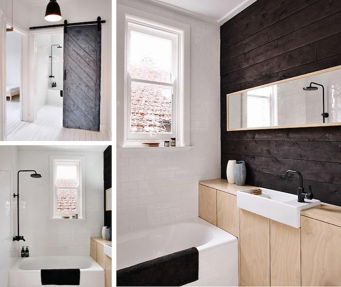 une toute petite salle de bain parfaite - Salle De Bain Nordique