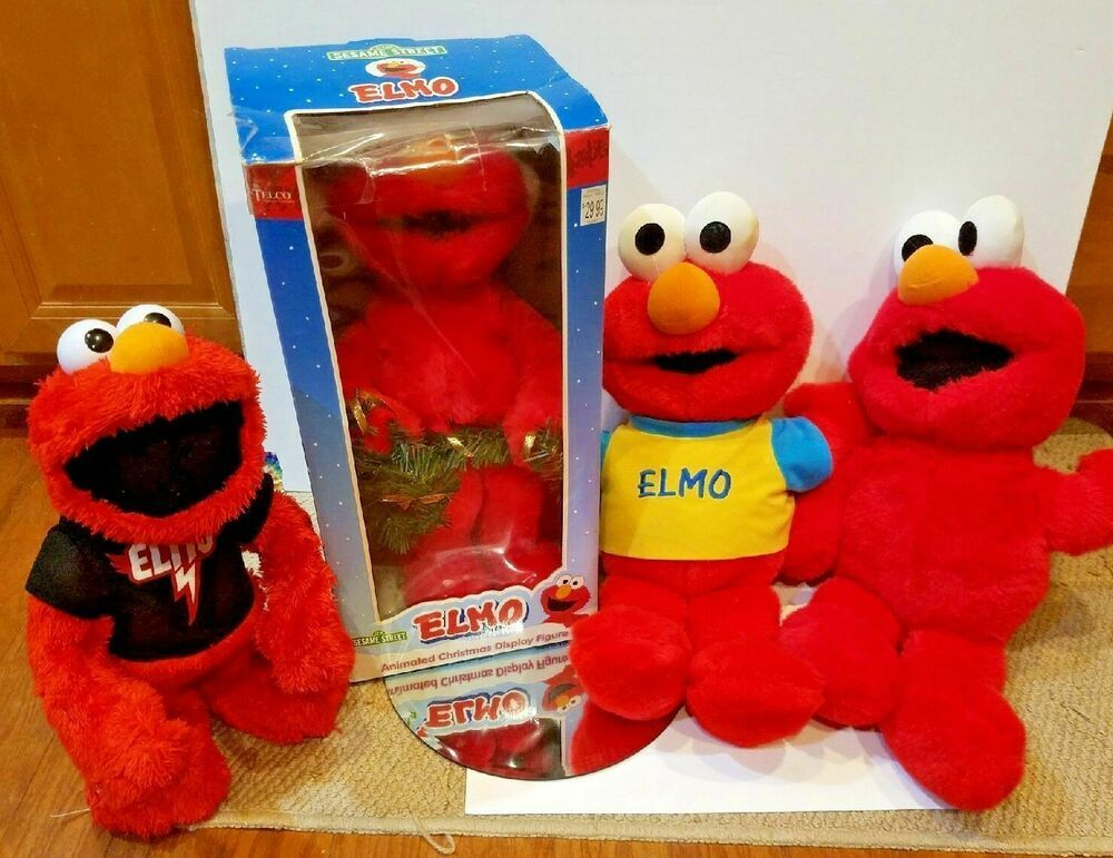 works great good condition 1997 Tyco Magic Lights Elmo