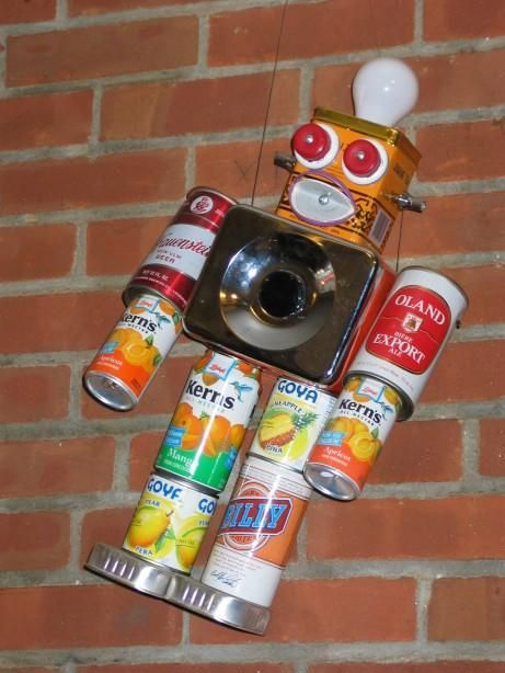 Image result for things made out of recycled materials