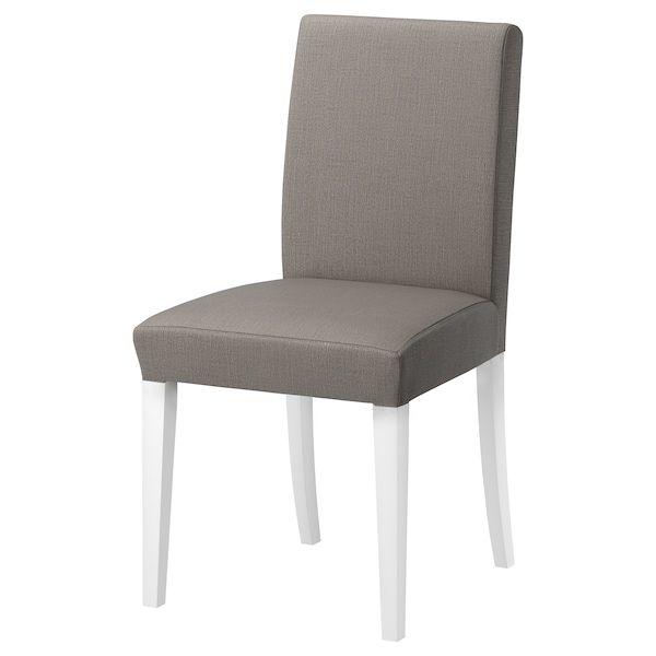 HENRIKSDAL Stuhl, Nolhaga graubeige. Hol es dir noch heute
