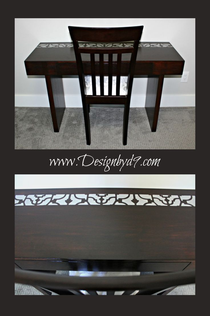 Stain and stencil furniture Design by D9 Furniture