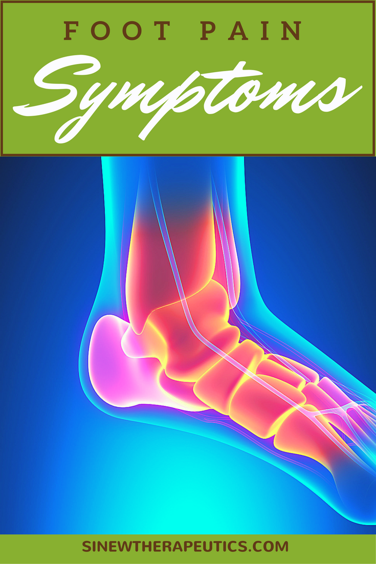 Foot Pain symptoms include a sharp burning pain in the ball-of-the ...