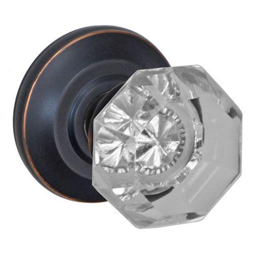 elite oil rubbed bronze victorian clear glass door knob dummy single with cambridge rose glass door knobs91 knobs