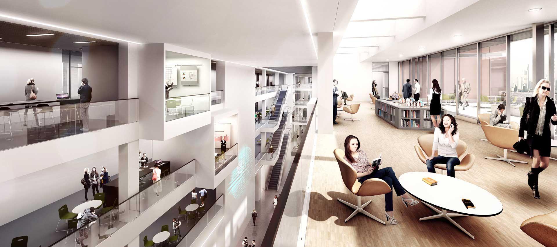 frankfurt school of finance and management 1920 852 interior pinterest henning. Black Bedroom Furniture Sets. Home Design Ideas