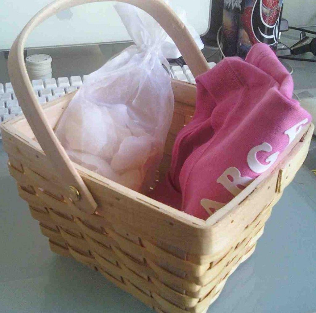 Diy flower girl basket diy flower girl basket flower