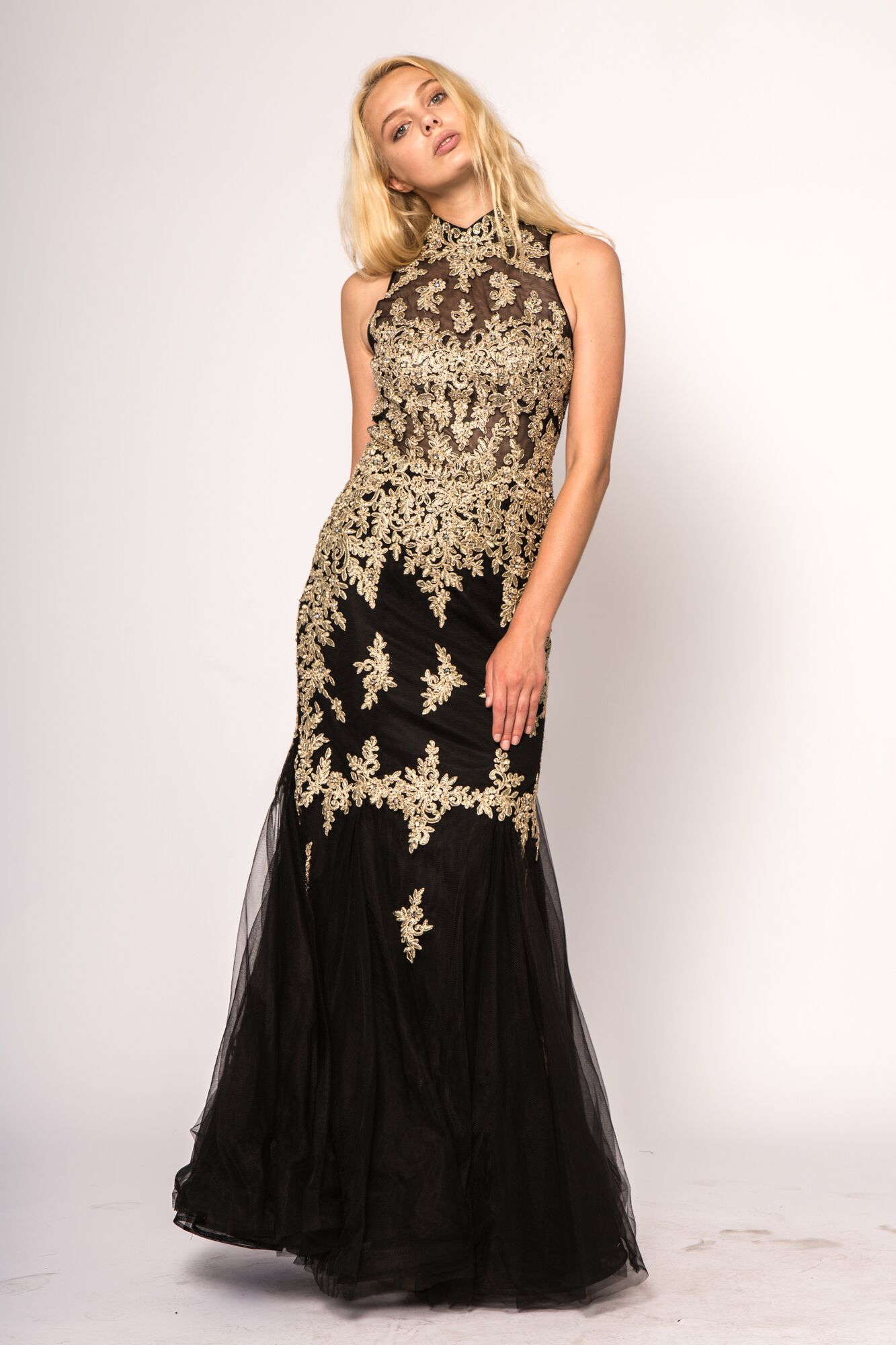 S S18 Elizabeth K Collection By Gls Apparel Queen Black And Gold 2018 Prom Dress Red Prom Dress Long Dresses Prom Dresses [ 2000 x 1333 Pixel ]