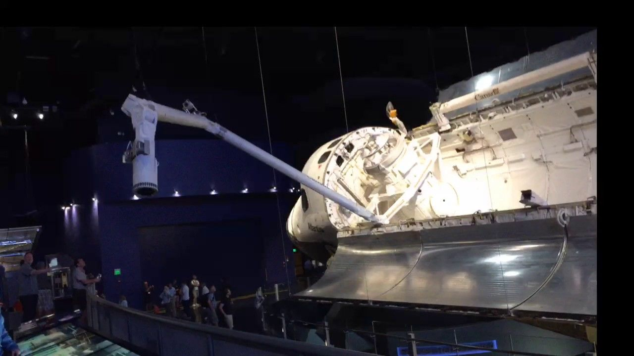 live from  Kennedy  Space Centre