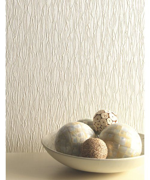 10m L X 53cm W Abstract 3d Embossed Roll Wallpaper