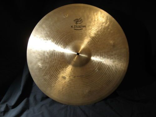 "22"" ZILDJIAN K CONSTANTINOPLE BOUNCE RIDE CYMBAL, EXCELLENT NO RESERVE!"