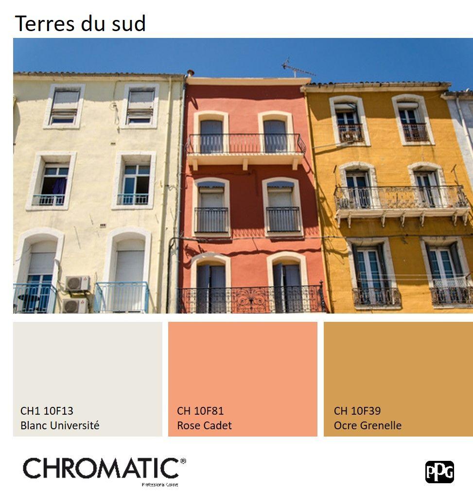 Couleurs Facades En Provence retrouvez le #nuancier chromatic® facade sur www