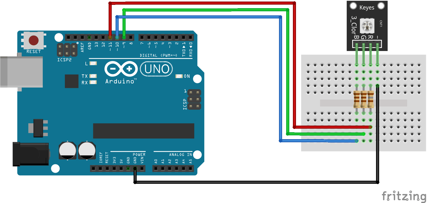 Arduino Ky 009 Connection Diagram Smd Rgb Electronics And To Tv Wiring