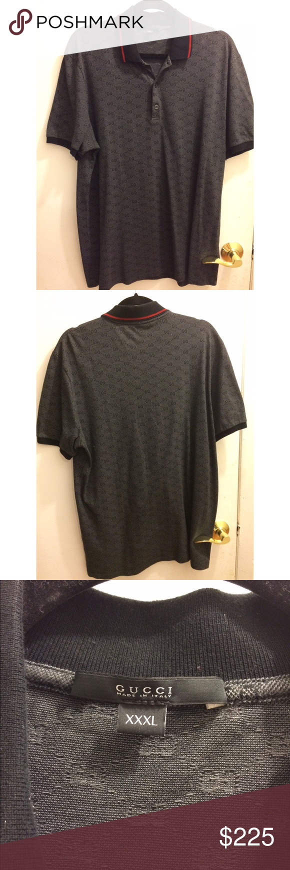 e3b4bf528 Authentic Gucci Polo Shirts