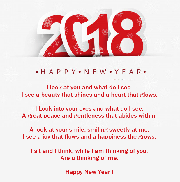 Romantic New Year 2018 Poems | Happy New Year 2019 Wishes Quotes ...