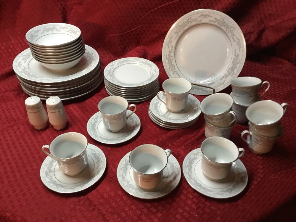 45 piece Excel Somerset china set Excel China