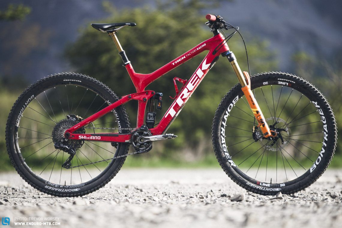 Pro Bike Check: Lewis Buchanan\'s Trek Factory Racing Slash | ENDURO ...