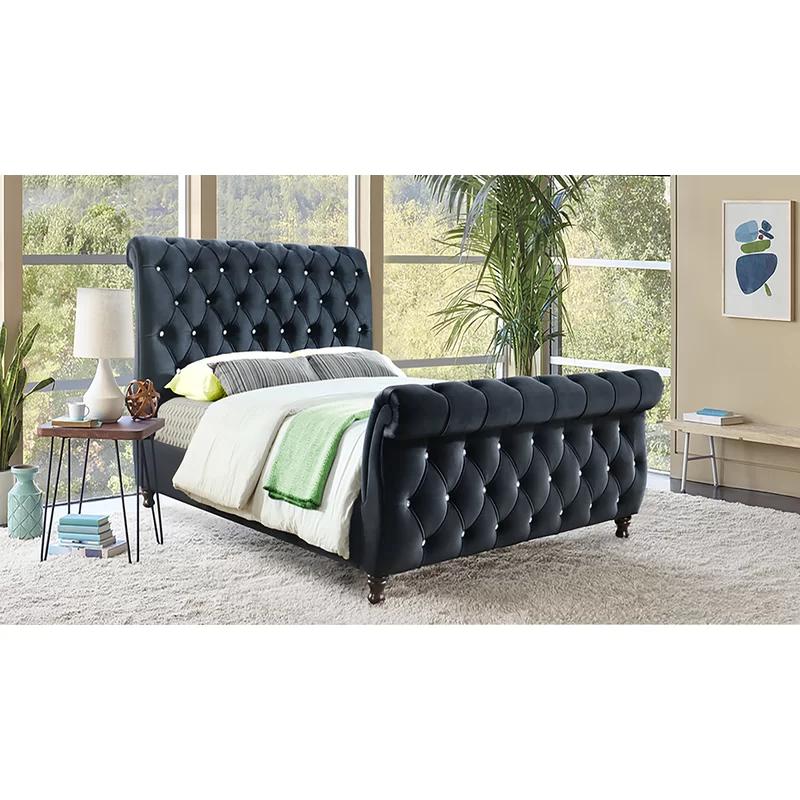 Delgadillo Upholstered Sleigh Bed Upholstered Sleigh Bed