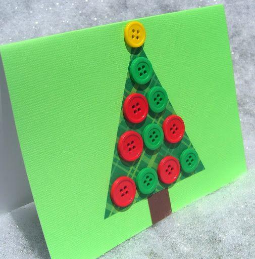 como hacer tarjetas de navidad artesanales - Como Hacer Una Postal De Navidad