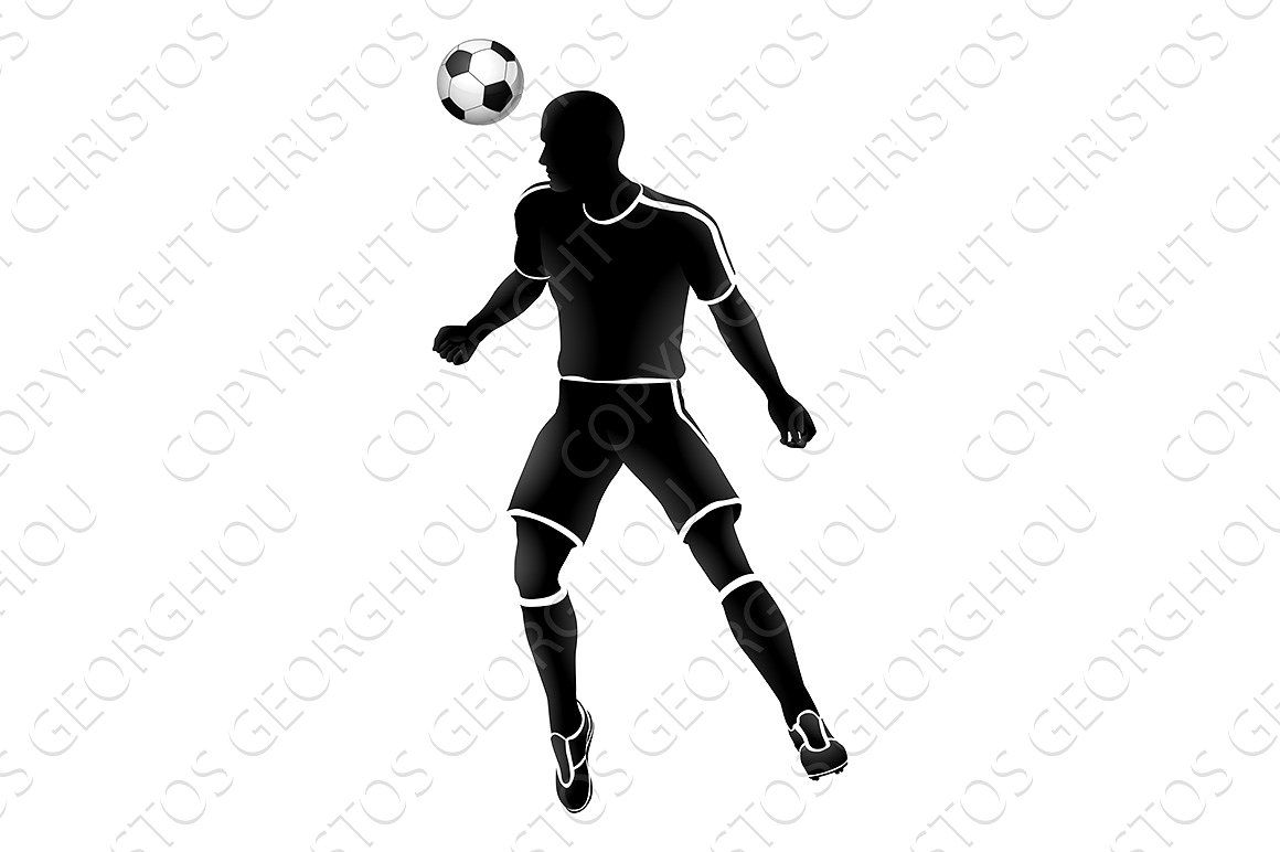 Soccer Player Sports Silhouette Football Players Soccer Players Soccer