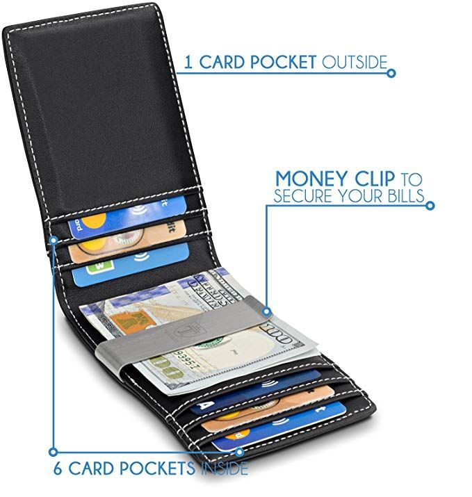 8f45dd48f918 TRAVANDO Money Clip Wallet