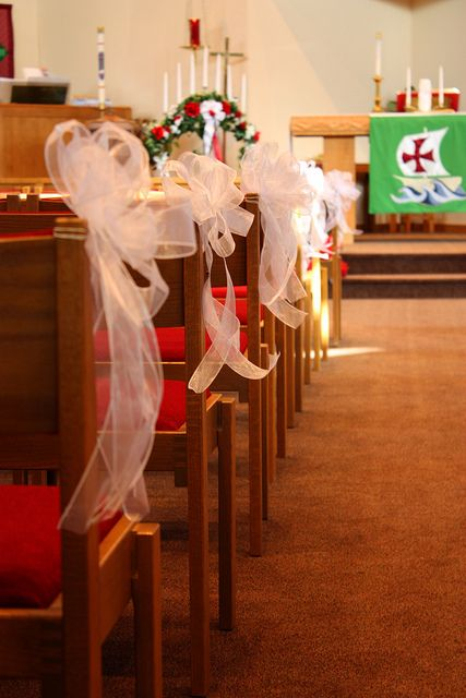 pew decorations for weddings images of white tulle pew bows wedding chair party decoration shower