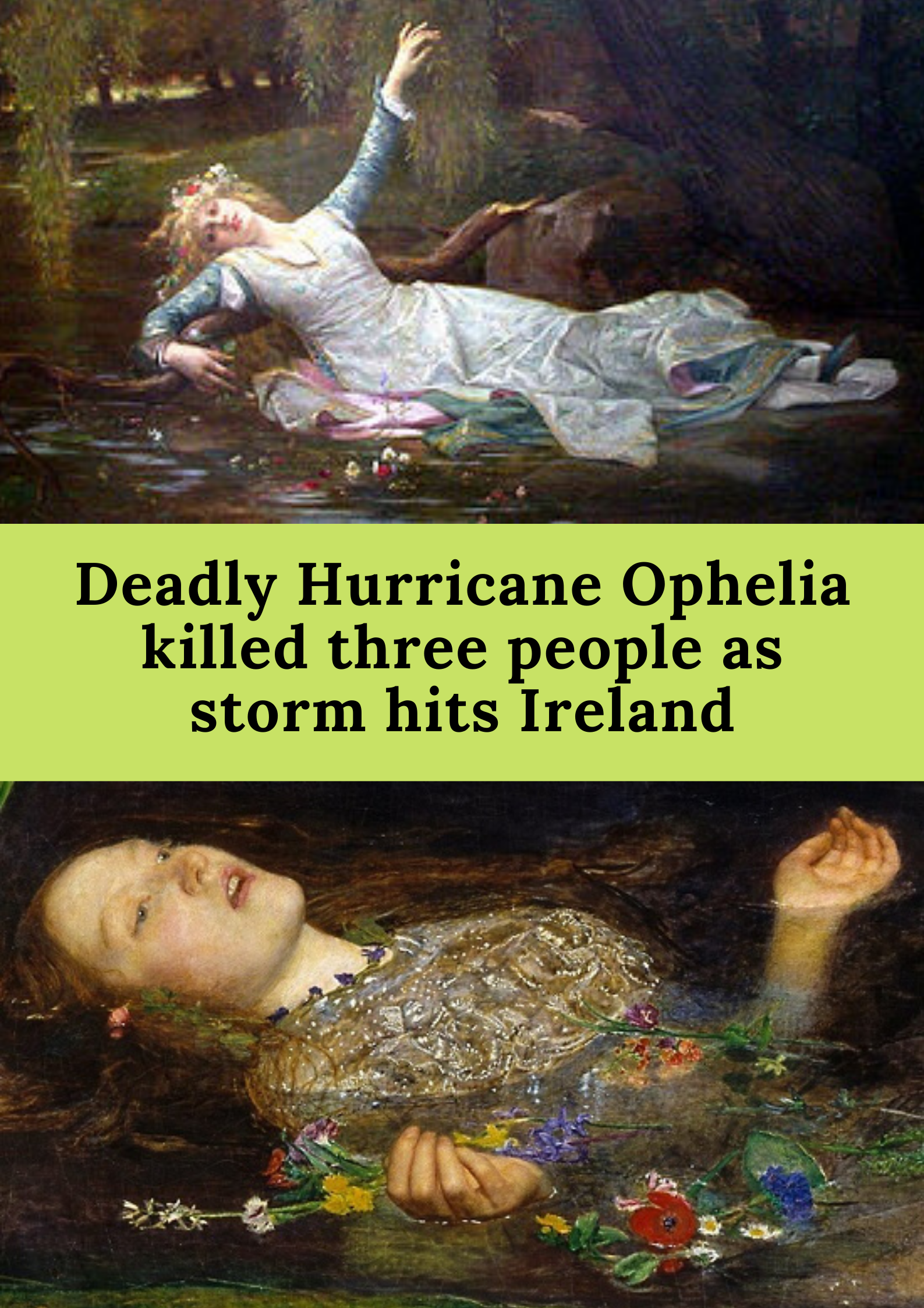 Deadly Hurricane Ophelia Killed Three People As Storm Hits Ireland In 2020 Weird Facts Hurricane 22 Words
