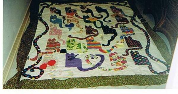 another cat quilt