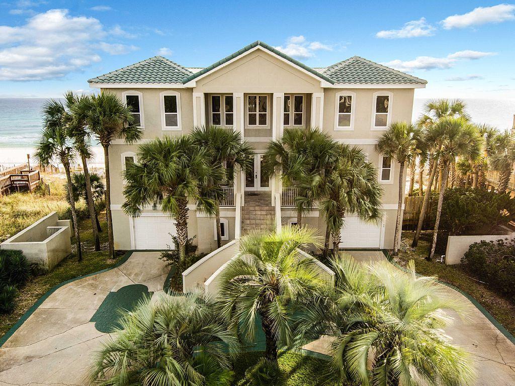 Miramar Beach House Rental Castle On The Beach Gulf Front Sleeps