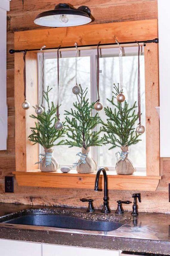 15 put christmas spirit in kitchen christmas window decorations christmas kitchen cabin on kitchen xmas decor id=78397