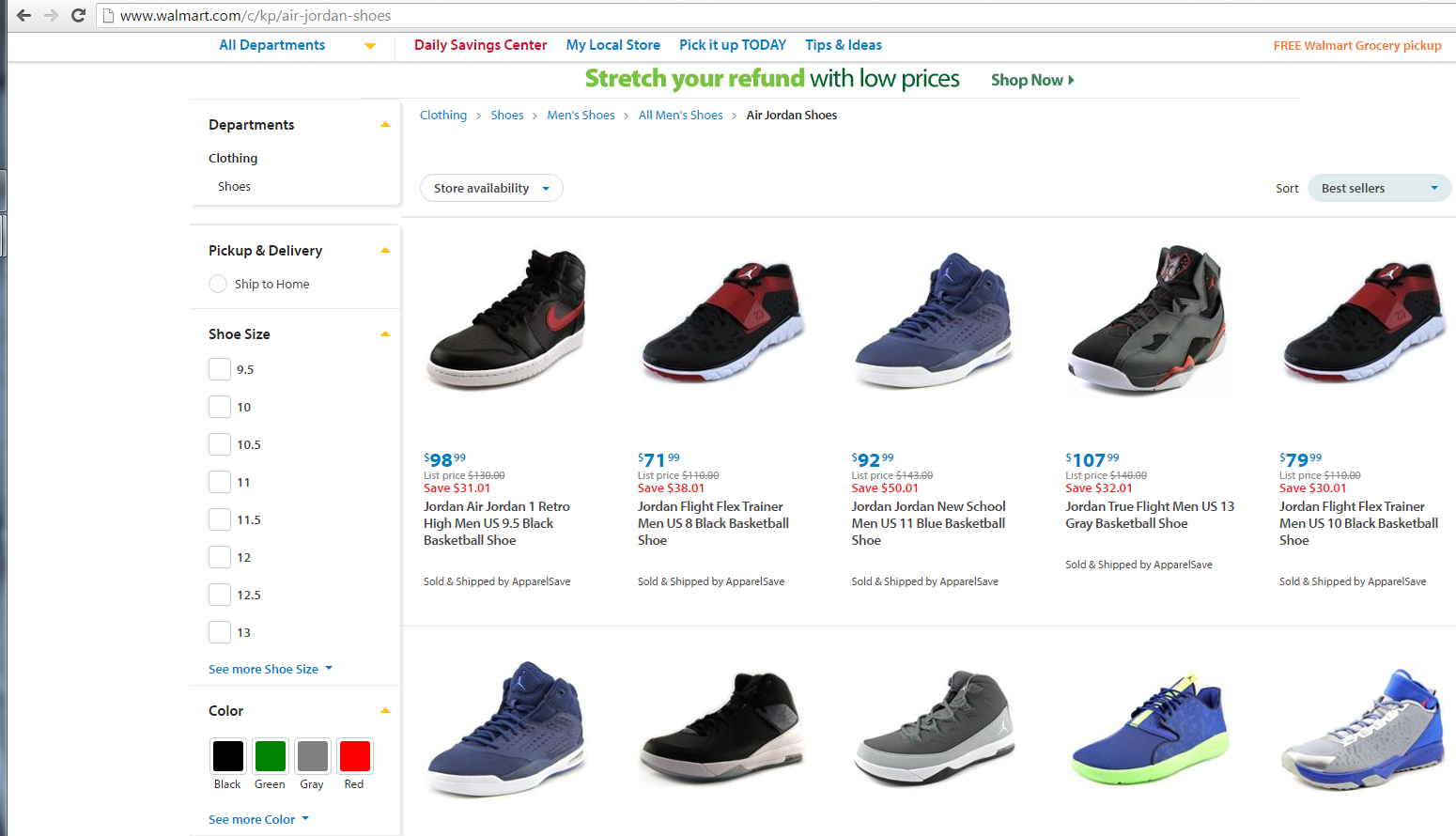 Walmart Selling Jordans Now Go Here To See Full Story Http Www Hiphopdab Com P 134 Sneaker Lovers Jordans Shopping