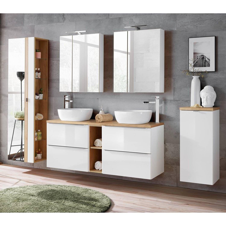 Puris Fresh Badmobel Doppel Wt Set H Doppelwaschtisch Mineralguss Waschtisch Waschtisch Set