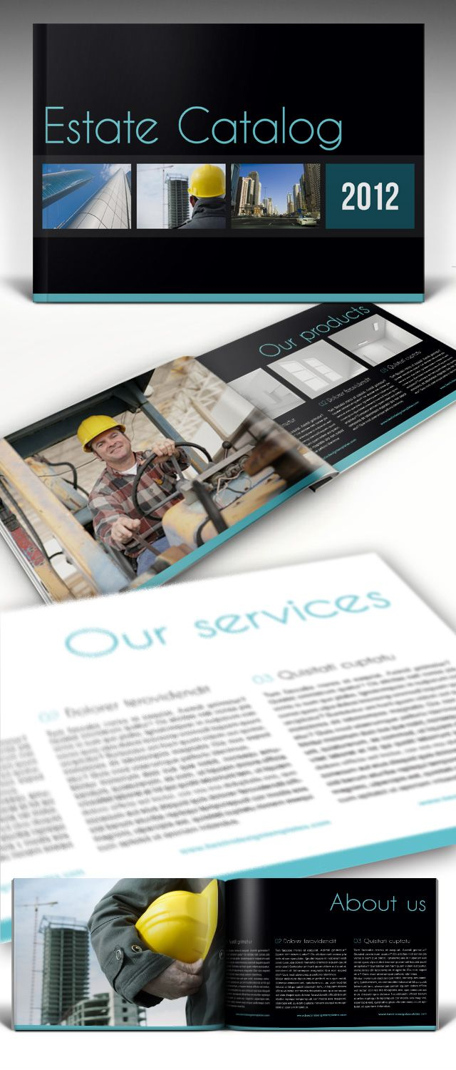 Estate Brochure Free InDesign Template | EDUCATE | Pinterest ...