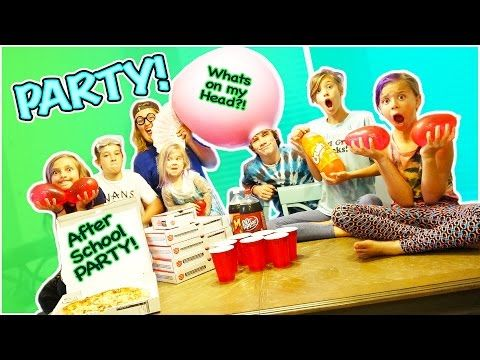 On todays vlog we have a after school pizza party plus we have an orbeeze water balloon fight! Plus Jayla has a crush!