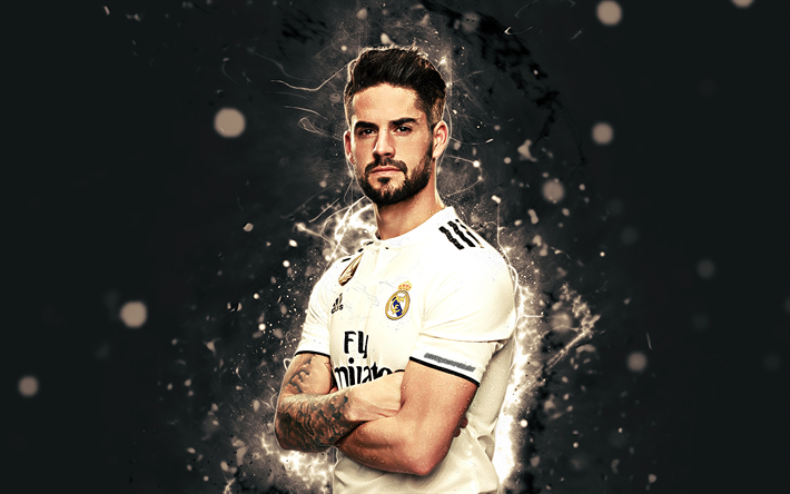 Download wallpapers Isco, 4k, season 20182019