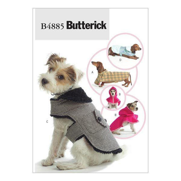 Kabátek pro zvířata, Butterick 4885